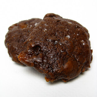 Salted Chocolate Covered Caramel Cookies Recipe