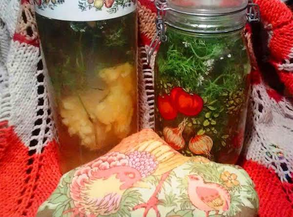 Cilantro Water With Or W/o Fruit (detox Beverage)