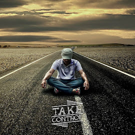 Take Control by Salam Jumiran - Typography Captioned Photos