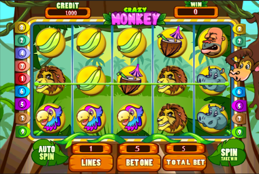 Crazy Monkey Slots HD