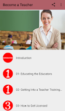 Become a Teacher screenshot thumbnail