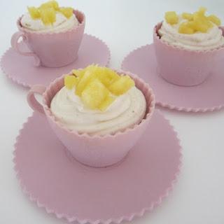 Carrot & Pineapple Cupcakes