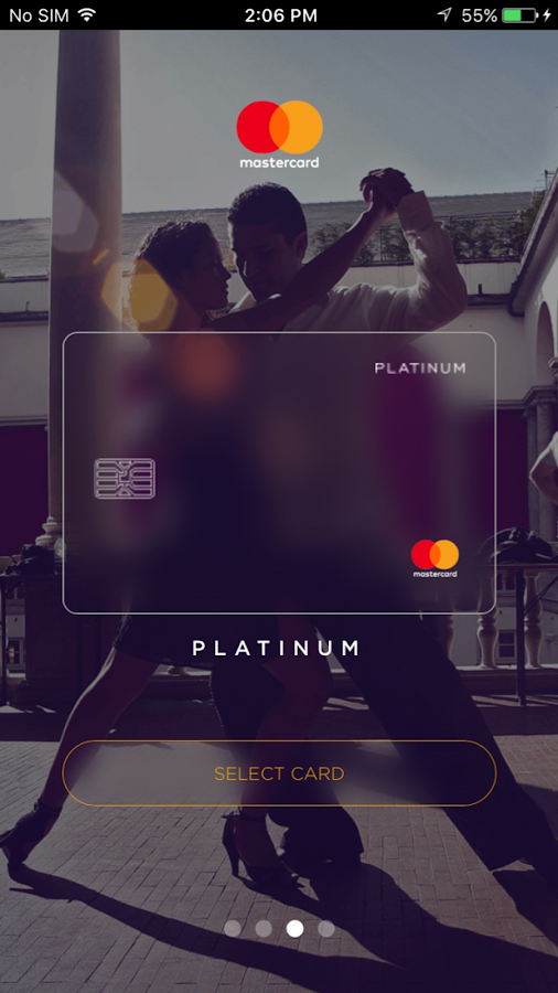Mastercard for You- screenshot