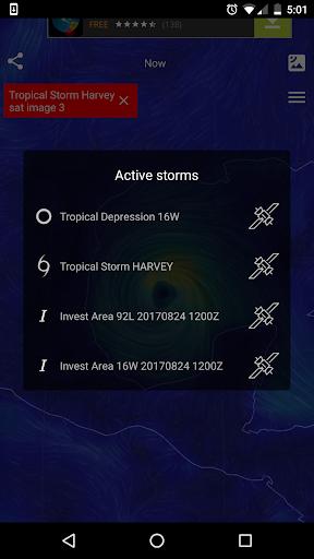 Wind Map ud83cudf2a Hurricane Tracker (3D Globe & Alerts) 2.2.9 Screenshots 4