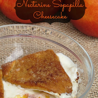 Nectarine Sopapilla Cheesecake