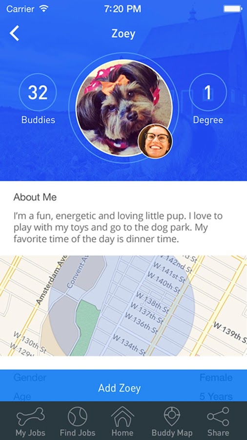 DoggyBnB- screenshot