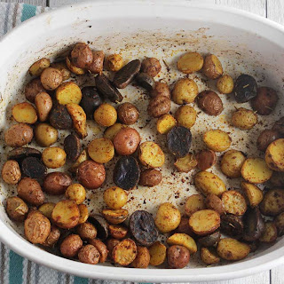Spanish Roasted Potatoes.