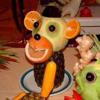 Fruit plate – Monkey