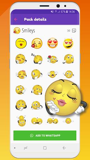 ? WeLove : love stickers (WAStickerApps) 2.2 screenshots 1