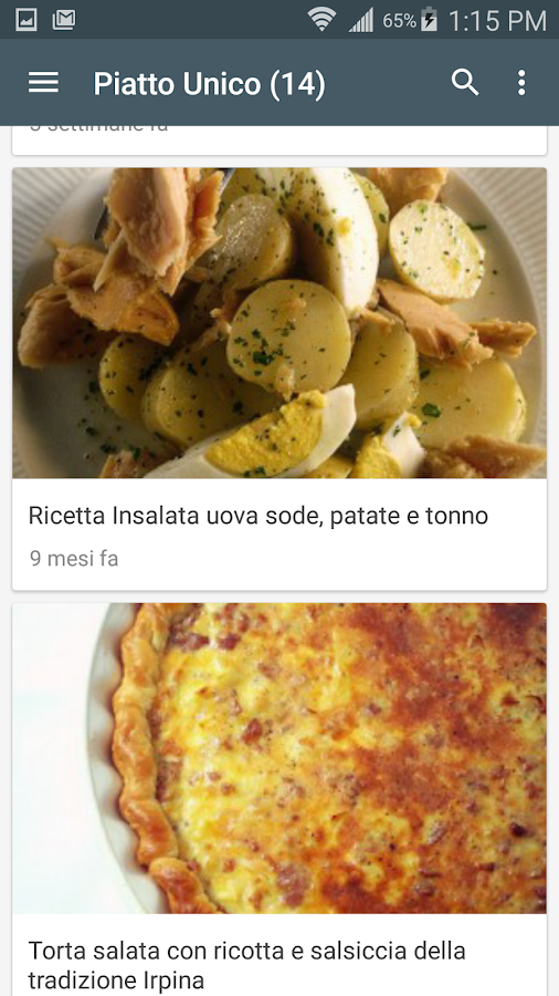 Ricette di cucina android apps on google play - App cucina gratis ...