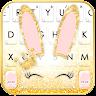 com.ikeyboard.theme.gold.glitter.bunny