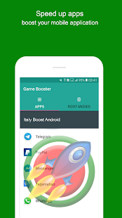 App Italy Boost Android - Game Booster Cleaner APK for Windows Phone