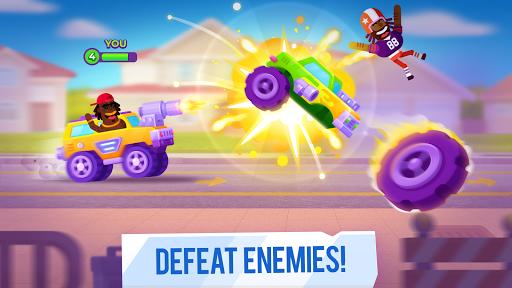 Đánh bại kẻ thù trong Racemasters