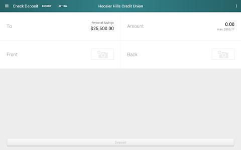 Hoosier Hills CU Mobile screenshot 9