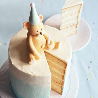 6-Layer Vanilla Bean Birthday Cake