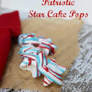Patriotic Star Cake Pops Recipe