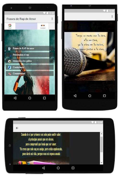 Frases De Rap De Amor Android приложения Appagg