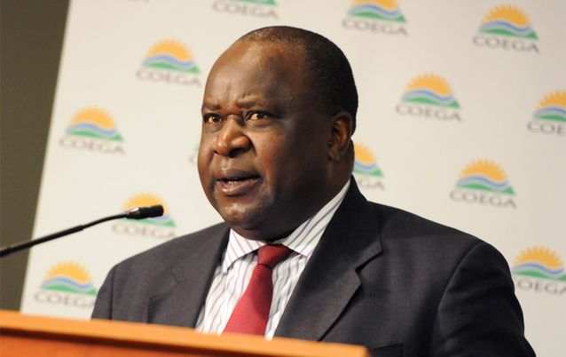 Tito Mboweni. Picture: THE HERALD