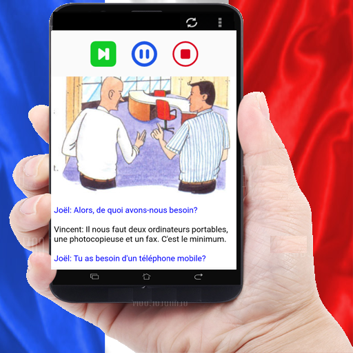 ABC French easy with dialogues french 1.9 screenshots 1