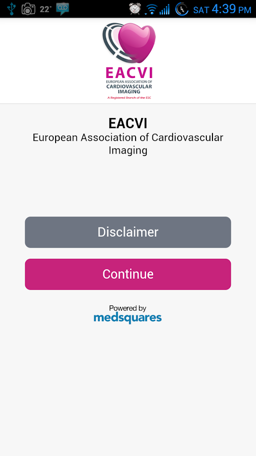 EACVI Recommendations- screenshot