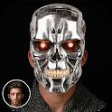 CYBORG CAMERA PHOTO EDITOR -ROBOT STICKERS ON FACE icon