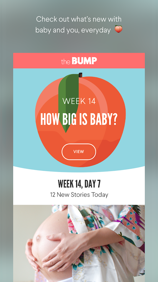 The Bump Pregnancy Tracker- screenshot