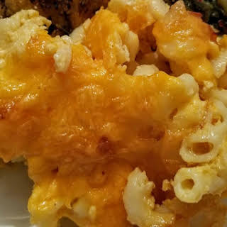 Caribbean Style Macaroni Pie.