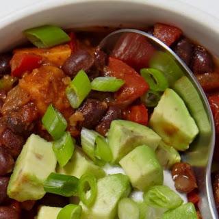 Smoky Black Bean and Sweet Potato Chili