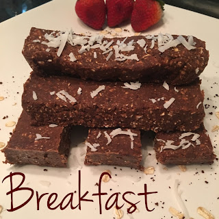 Protein Breakfast Bars (Vegan, Gluten-Free)