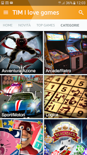 App TIM I love games APK for Windows Phone