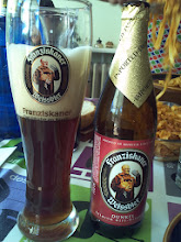 Photo: Franziskaner Dunkel en el seu got oficial... ;-)