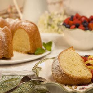 Golden Citrus Cake