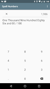 Spell Numbers – A check writing helper 1