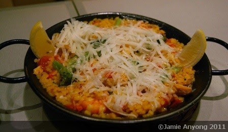 manchego cheese paella