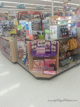 Photo: Beauty counter galore! Here they usually have some specials, deals...and as you can see magazines!