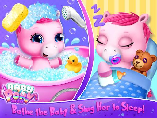 Baby Pony Sisters - Virtual Pet Care & Horse Nanny 5.0.14002 screenshots 9