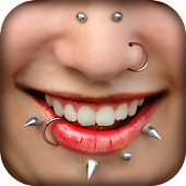 Piercings Photo Editor - Beauty Makeover App