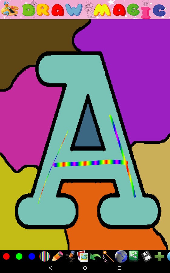 Coloring for Kids - ABC- screenshot