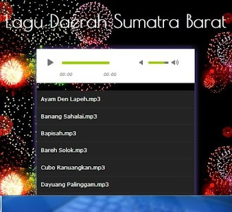 Song West Sumatra Region - náhled
