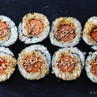Hot Dog Maki Roll #SundaySupper