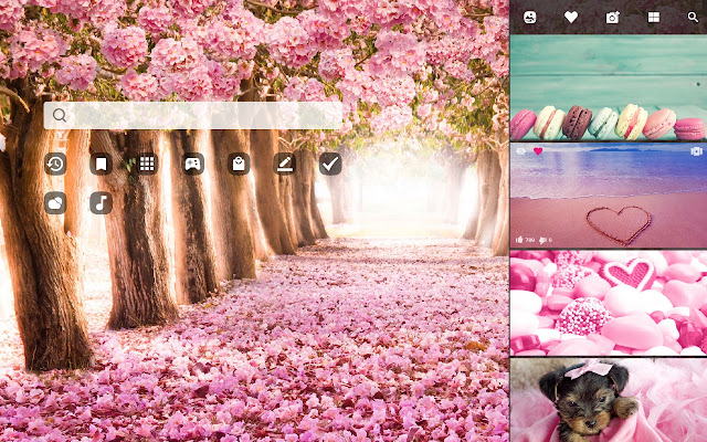 Pink Hd Wallpapers New Tab Theme