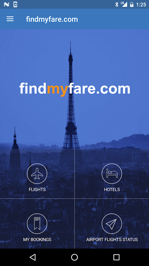 FindMyFare Flight- screenshot