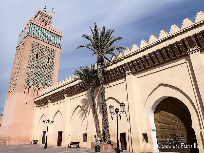Marrakech - Mosquée Moualy El Yazid