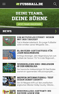 FUSSBALL.DE screenshot 0