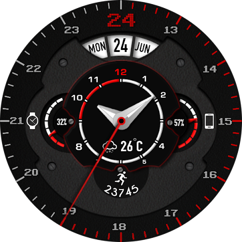 android Phroton Interactive Watch Face Screenshot 24
