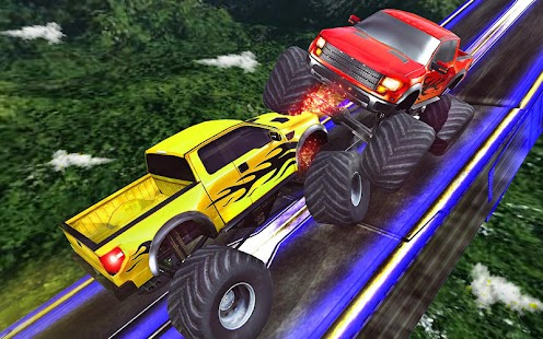 Impossible Monster Racing Stunts - náhled