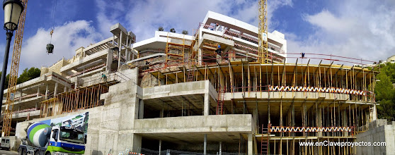 Photo: Vista general. Fase de estructura.
