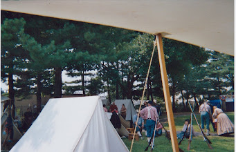 Photo: View of the encampment