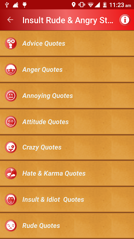 Download Angry Insult Rude Status Messages & Quotes PRO APK 2 6 by