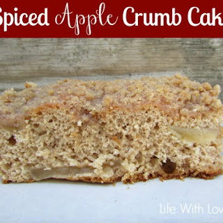 Spiced Apple Crumb Cake 0